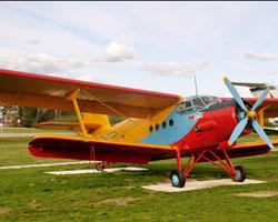 Музей под открытым небом в Национальном аэропорту Минск-2