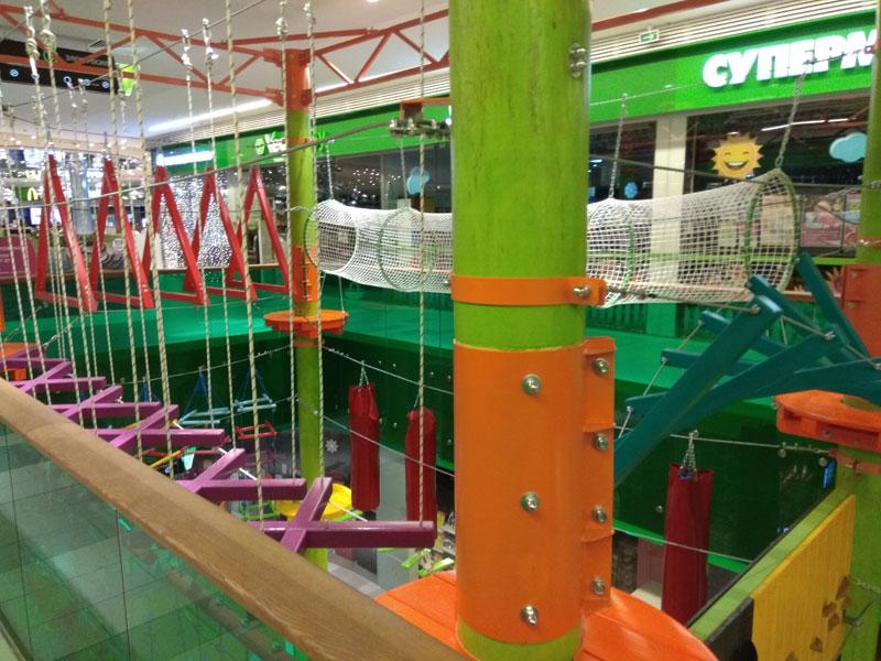 Веревочный парк в Момо